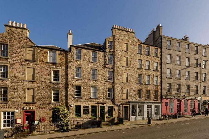 2 Bedrooms Flat for sale in 69 (4F1) Broughton Street, Edinburgh, EH1 3RJ