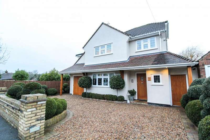 4 Bedrooms Detached House for sale in Belvedere Road, Brentwood, Essex, CM14