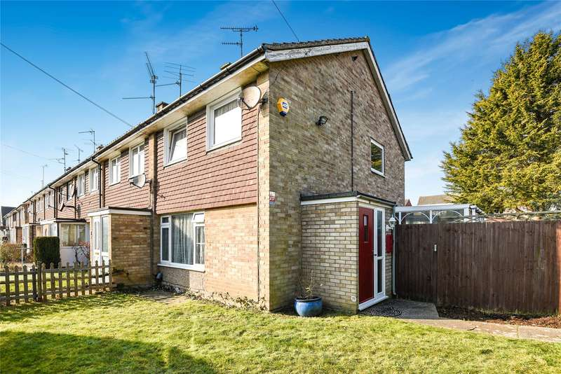 3 Bedrooms End Of Terrace House for sale in Trelleck Road, Reading, Berkshire, RG1