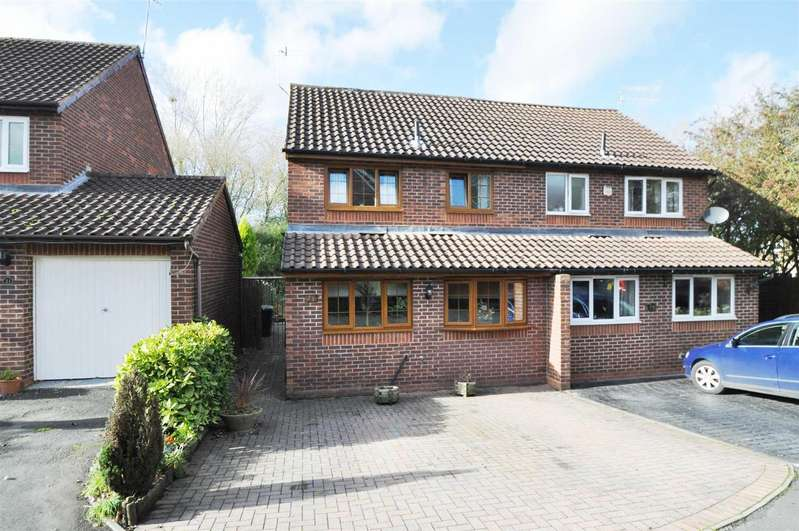 3 Bedrooms Semi Detached House for sale in Coppice Close, Droitwich Spa