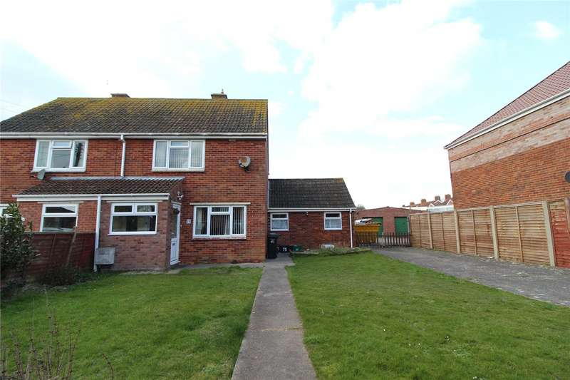4 Bedrooms Semi Detached House for sale in North Avenue Highbridge Somerset TA9