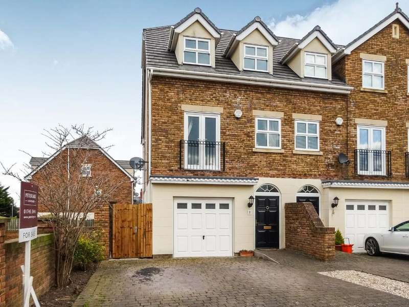 3 Bedrooms Town House for sale in Maes Y Castell, Rhuddlan