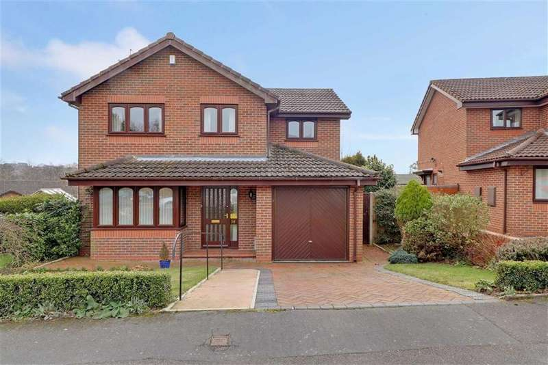 4 Bedrooms Detached House for sale in Chartwood, Loggerheads, Market Drayton