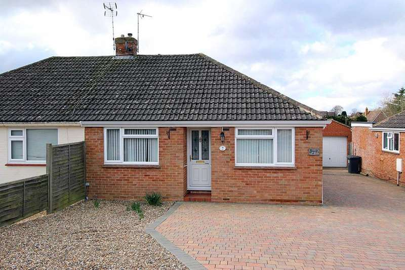 2 Bedrooms Semi Detached Bungalow for sale in Pitman Close, Basingstoke RG22