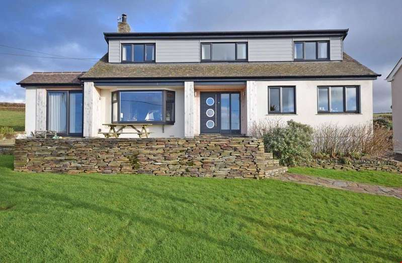 4 Bedrooms Detached House for sale in Between Tintagel and Boscastle, Cornwall, PL34