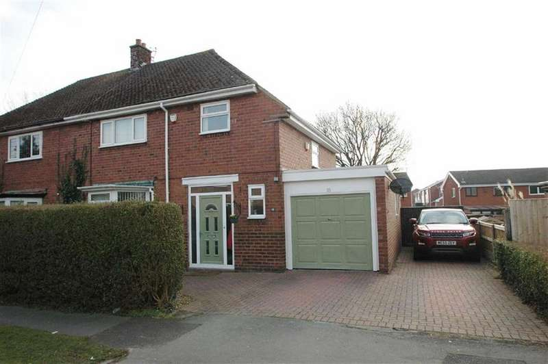 4 Bedrooms Semi Detached House for sale in Meadows Lane, Saughall, Chester
