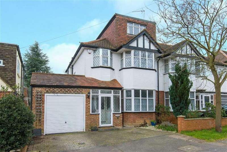 5 Bedrooms Semi Detached House for sale in Egerton Close, Pinner, Middlesex
