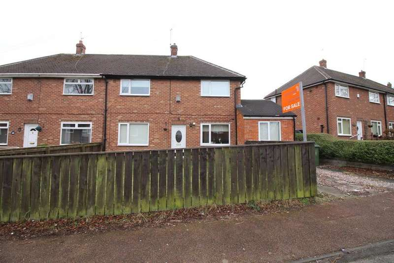 3 Bedrooms Semi Detached House for sale in St. Cuthberts Drive, Gateshead