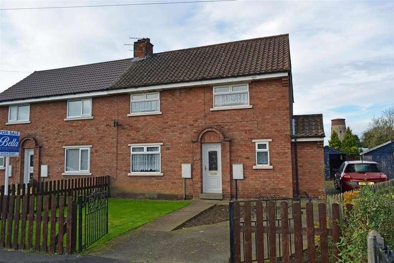 3 Bedrooms Semi Detached House for sale in Ings Lane, Hibaldstow, Brigg