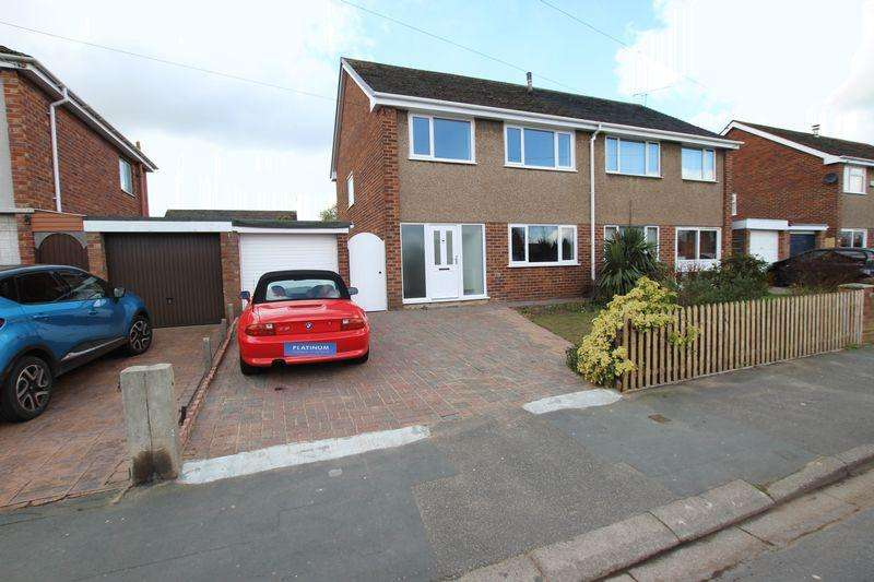 3 Bedrooms Semi Detached House for sale in Bridge Meadow, Great Sutton