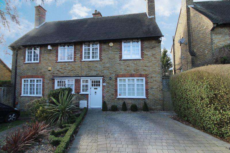 3 Bedrooms Semi Detached House for sale in Westholm, Hampstead Garden Suburb, London NW11