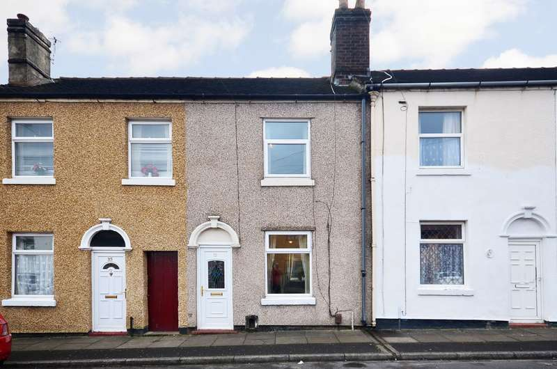 2 Bedrooms Terraced House for sale in Standard Street, Fenton, ST4 4NG