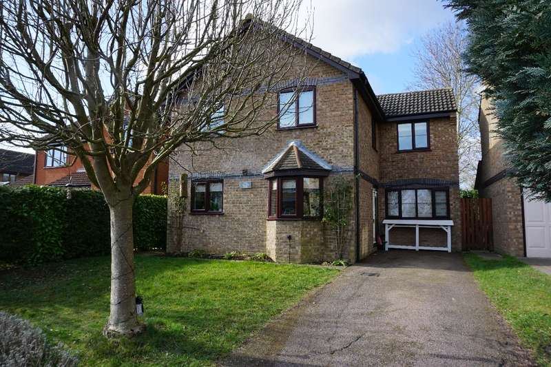4 Bedrooms Detached House for sale in TALBOTS HYDE, OLNEY