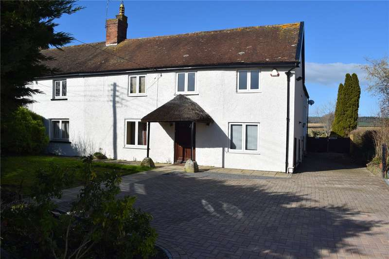 5 Bedrooms Semi Detached House for sale in Yallands Hill, Monkton Heathfield, Taunton, Somerset, TA2