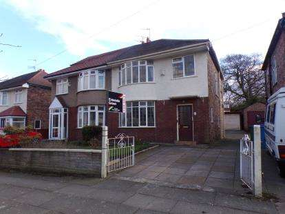 3 Bedrooms Semi Detached House for sale in Barnfield Drive, Liverpool, Merseyside, England, L12
