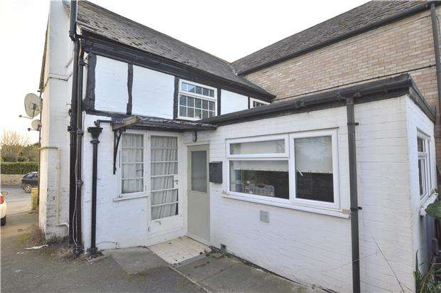 1 Bedroom Flat for sale in Bottom Flat - Drapers, Church Street, Bredon, TEWKESBURY, Gloucestershire, GL20 7LA