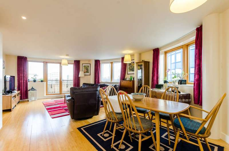 2 Bedrooms Penthouse Flat for sale in Meath Crescent, Bethnal Green, E2