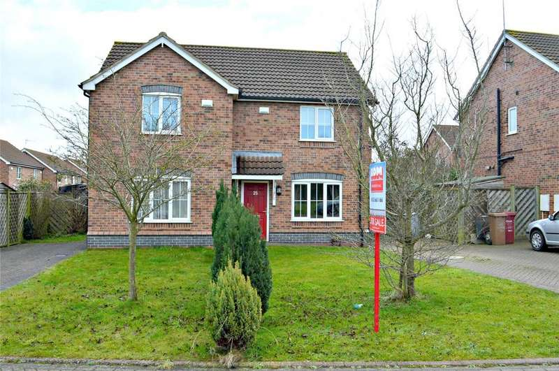 2 Bedrooms Semi Detached House for sale in Lapwing Way, Barton-Upon-Humber, Lincolnshire, DN18