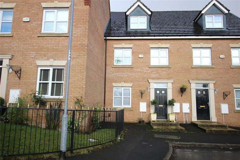 3 Bedrooms Town House for sale in Lathom Close, Liverpool, Merseyside, L36