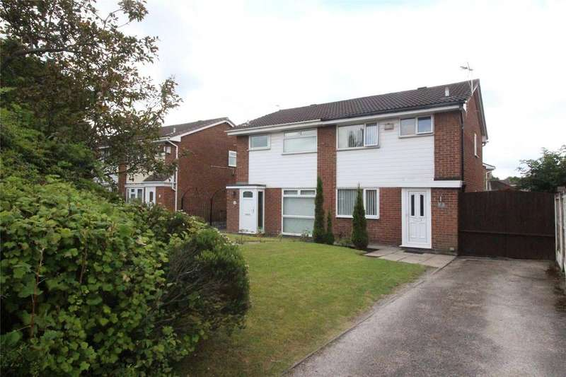 3 Bedrooms Semi Detached House for sale in Bardley Crescent, Tarbock Green, Prescot, Merseyside, L35