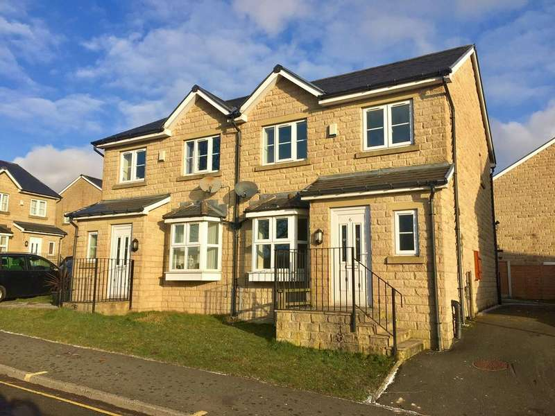 3 Bedrooms Semi Detached House for sale in 6 Keighley Close, Illingworth HX2