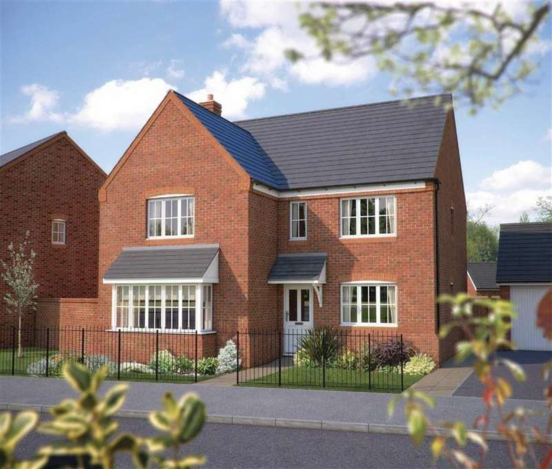5 Bedrooms Detached House for sale in Arundel, Plot 414, Bowbrook Meadows, Off Mytton Oak Road, Squinter Pip Way, Shrewsbury SY3 5JD