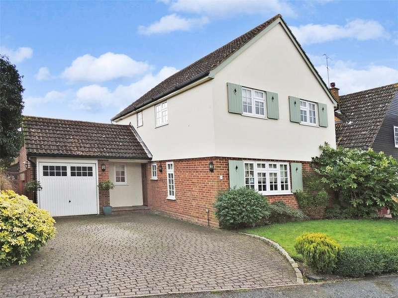 4 Bedrooms Detached House for sale in Martingale Close, BILLERICAY