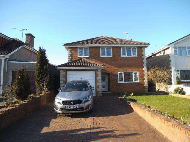 4 Bedrooms Detached House for sale in Bryn Road, Coychurch, Bridgend CF35