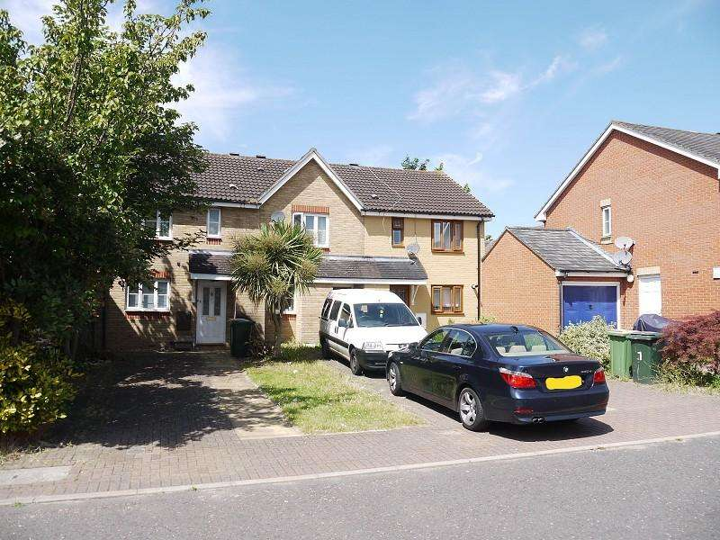 2 Bedrooms Terraced House for sale in Edmund Hurst Drive, Beckton, London. E6