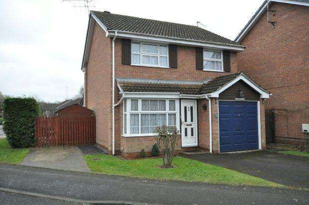 3 Bedrooms Detached House for sale in Kingsford Close, Woodley, Reading,