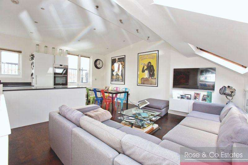 2 Bedrooms Flat for sale in Goldhurst Terrace, South Hampstead, London NW6