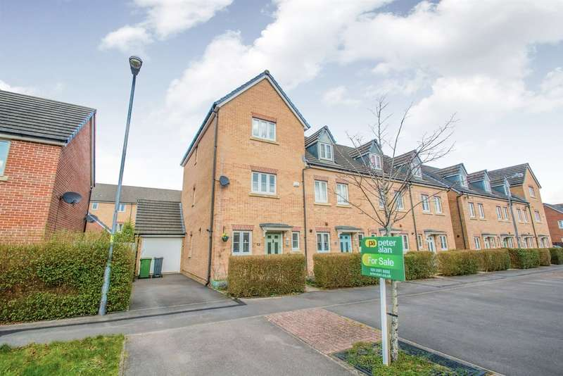 4 Bedrooms End Of Terrace House for sale in Mostyn Square, Llanishen, Cardiff