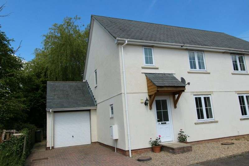 3 Bedrooms Semi Detached House for sale in APPLEWOOD GROVE, WHIMPLE