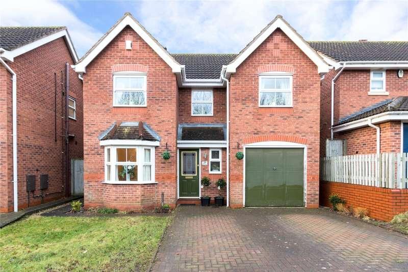 4 Bedrooms Detached House for sale in Lister Avenue Warndon Villages Worcester WR4