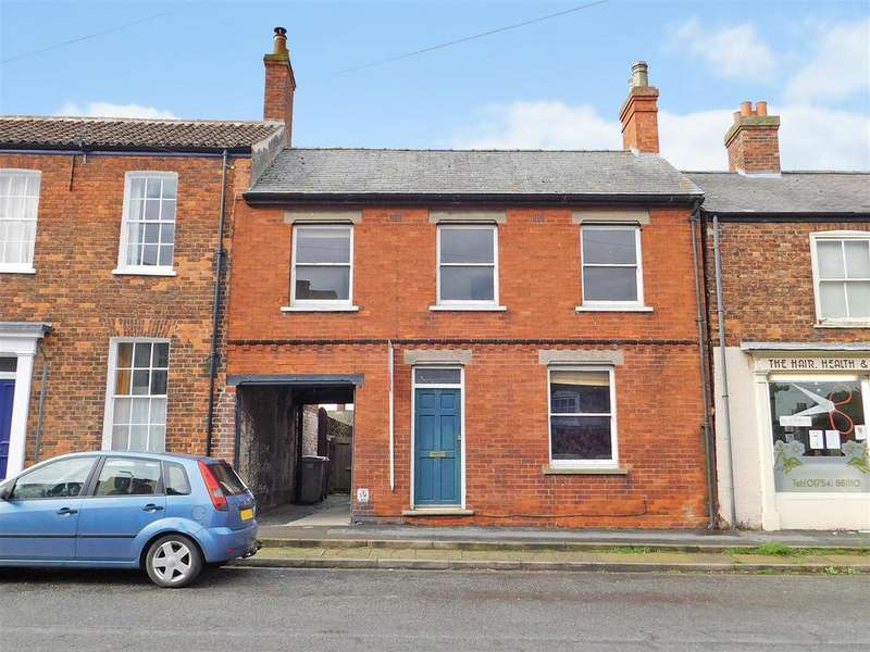 4 Bedrooms Terraced House for sale in High Street, Wainfleet, PE24 4BZ
