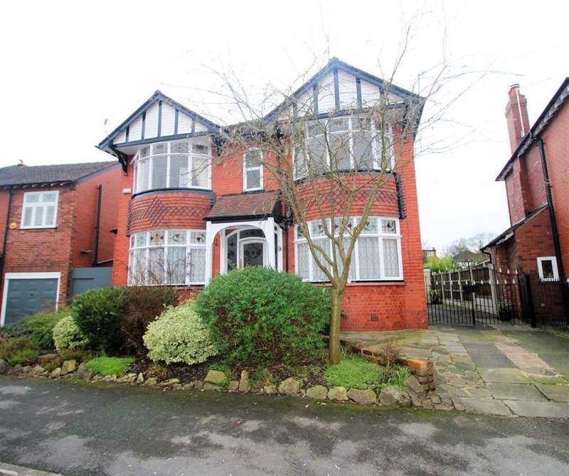 4 Bedrooms Detached House for sale in Woodend Road, Stockport, SK3 8TG