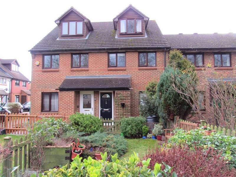 2 Bedrooms Maisonette Flat for sale in Vellum Drive, Carshalton, Surrey, SM5 2TP