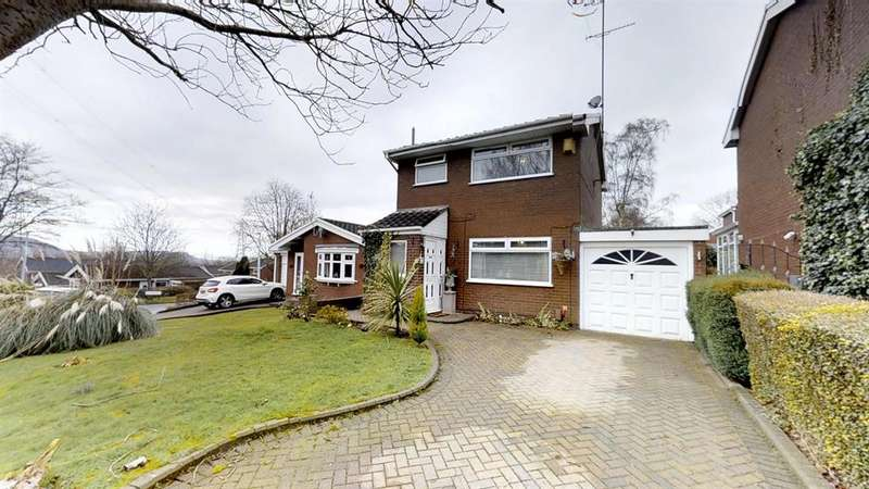 3 Bedrooms Detached House for sale in Bramble Way, Beechwood, Runcorn, WA7 3HN