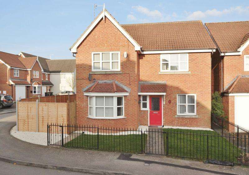 4 Bedrooms Detached House for sale in Lavender Close, Oakley Vale, Corby