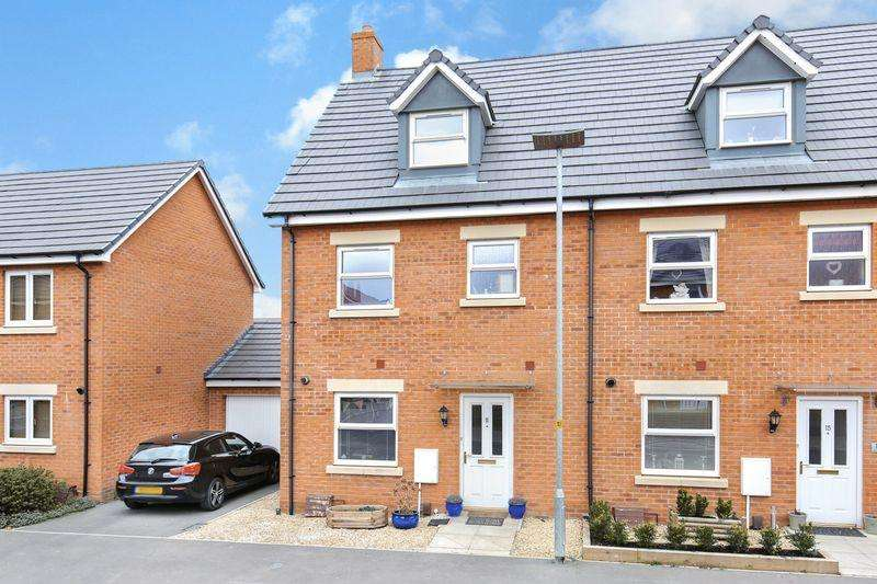 4 Bedrooms Terraced House for sale in Mascroft Road, Trowbridge
