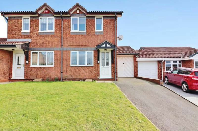 2 Bedrooms Semi Detached House for sale in Furness, Abbotsgate