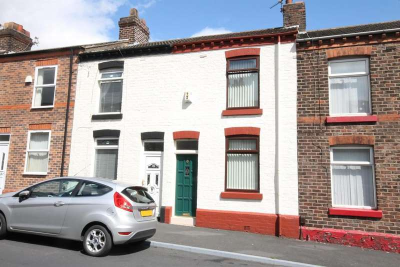2 Bedrooms Terraced House for sale in Edwin Street, Widnes, Cheshire, WA8 6QJ