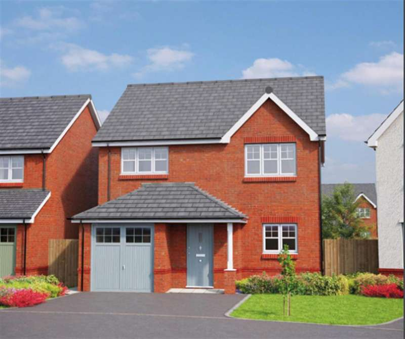 3 Bedrooms Detached House for sale in The Beaumont, Erddig Place, Wrexham LL11