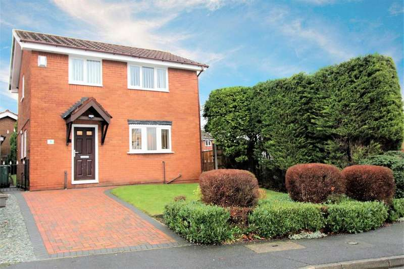 3 Bedrooms Detached House for sale in Betchworth Crescent, Beechwood, Runcorn, WA7 2YA