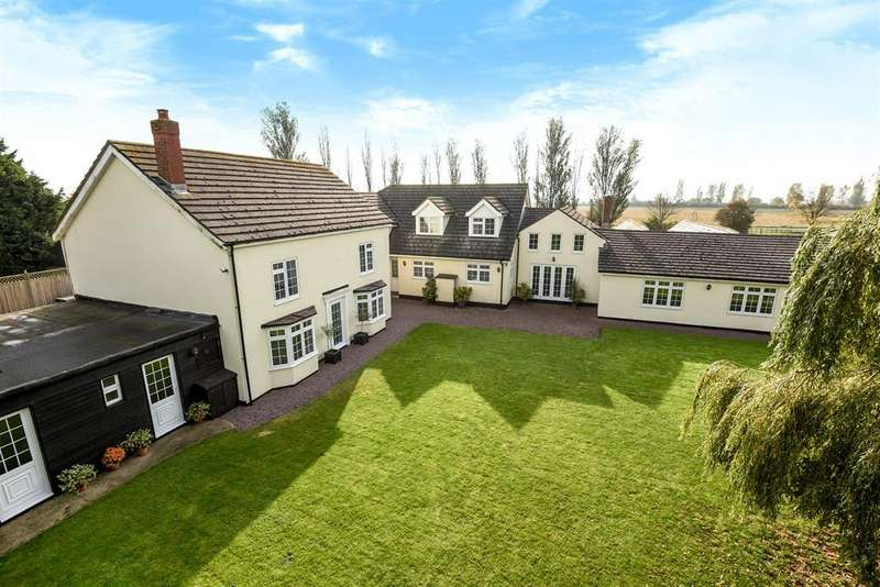 5 Bedrooms Detached House for sale in Old Main Road, Old Leake, Boston, PE22 9HR