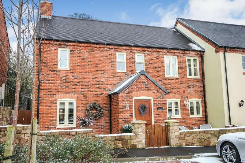 3 Bedrooms Semi Detached House for sale in Church Croft, Caverswall, STOKE-ON-TRENT, Staffordshire