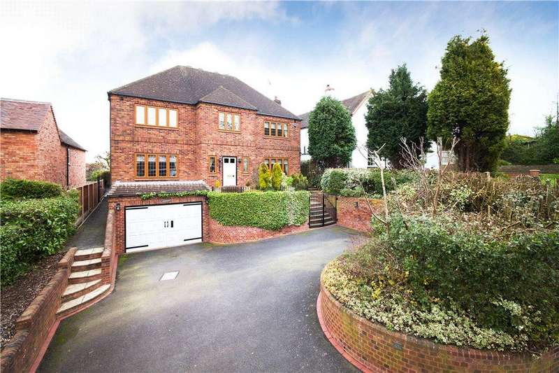 4 Bedrooms Detached House for sale in Middlefield Lane, Hagley, Stourbridge, West Midlands, DY9