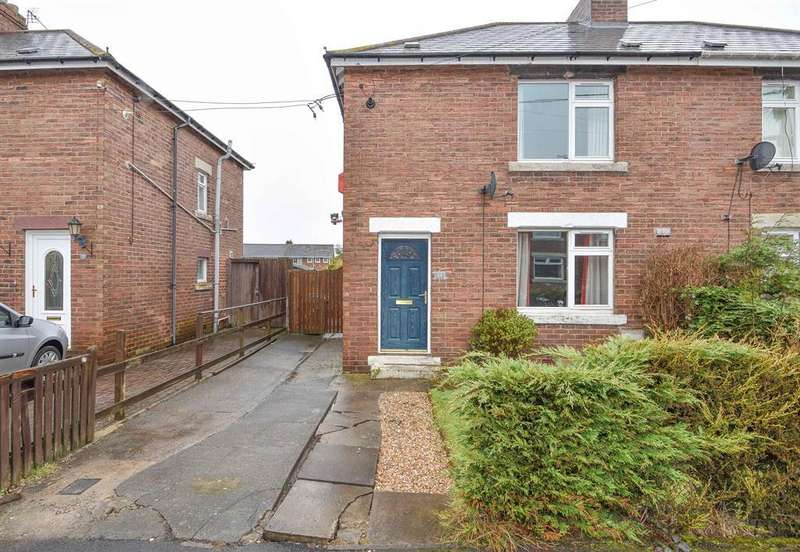 2 Bedrooms Semi Detached House for sale in Pixley Dell, Delves Lane, Consett