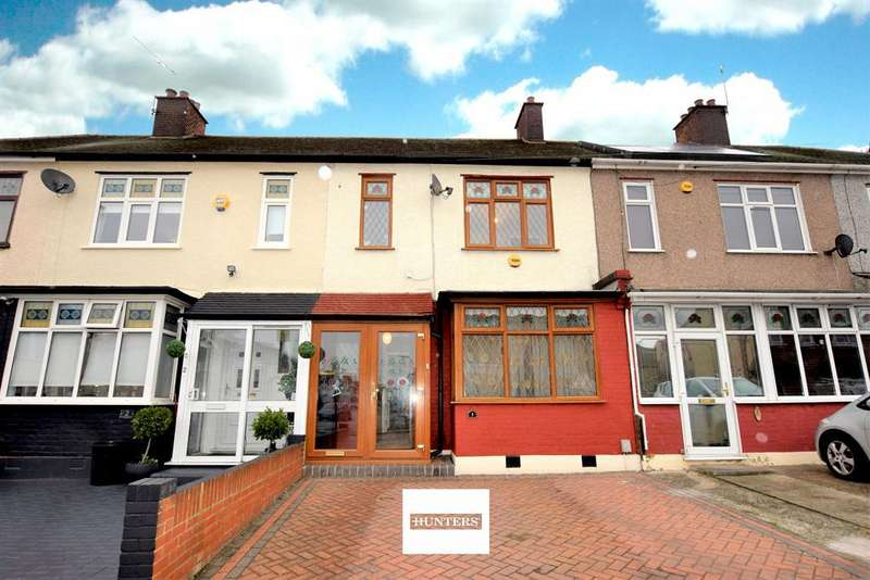 3 Bedrooms Terraced House for sale in Florence Gardens, Chadwell Heath, RM6