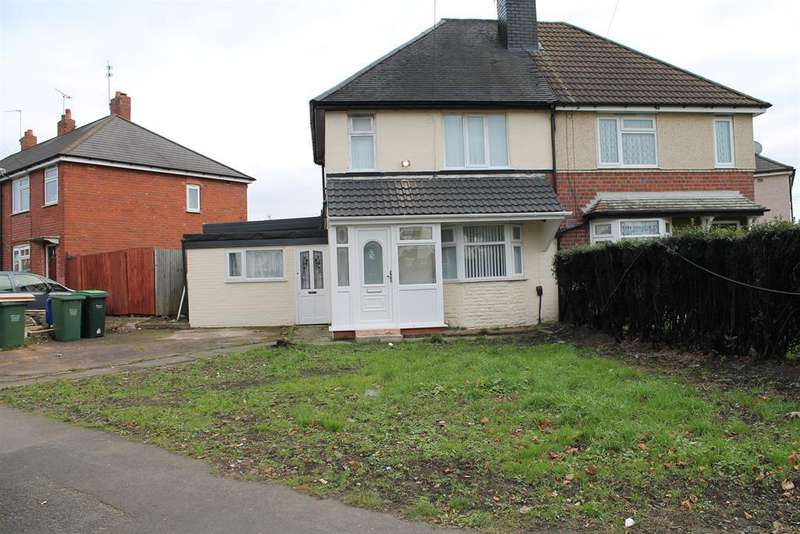 3 Bedrooms Semi Detached House for sale in Highfield Road, Tipton, DY4 0QX